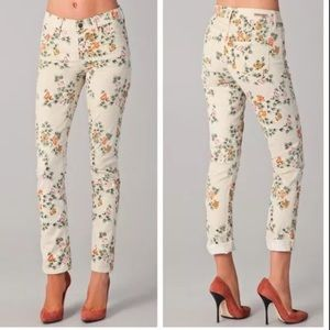 Citizens of humanity floral Thompson jeans